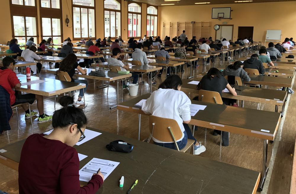 Institut Le Rosey | Examens du DELF au Rosey