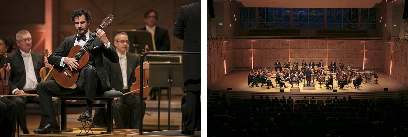 Orchestre de Cadaqués avec Pablo Sáinz Villegas au Rosey Concert Hall 2