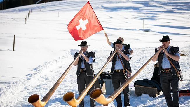 Gstaad : meilleure station de ski en Europe