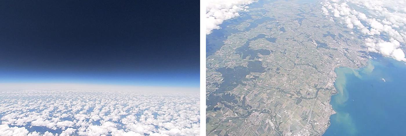 High Altitude Balloon launch