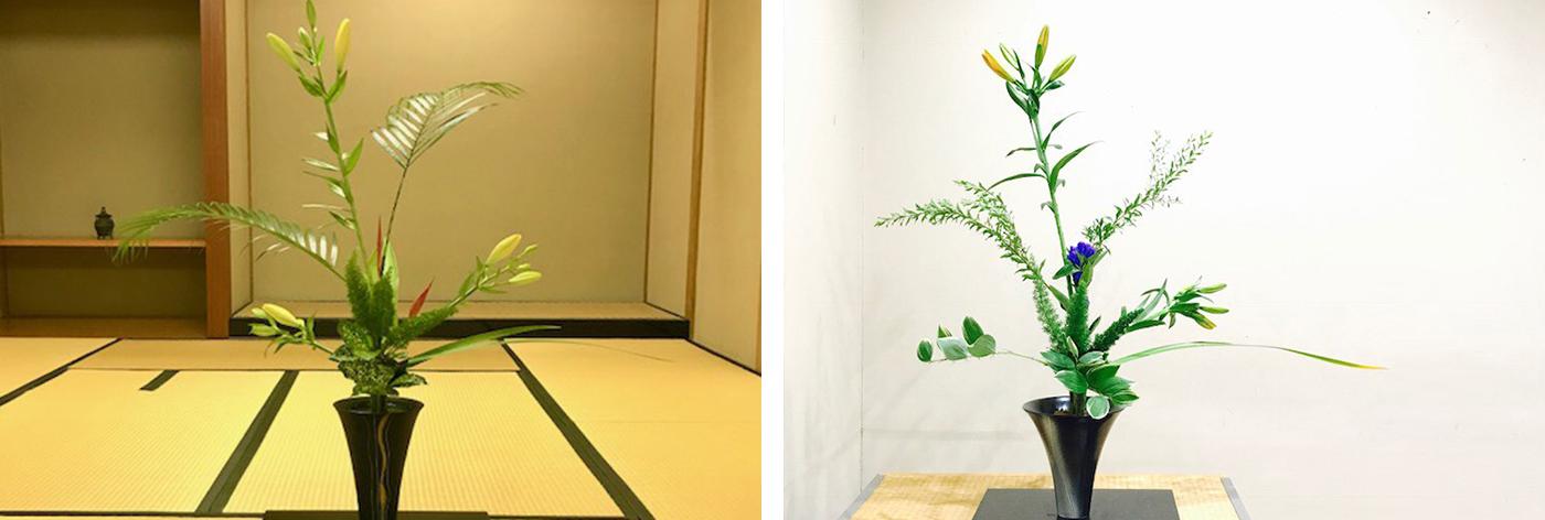 Ikebana success for Rosey student