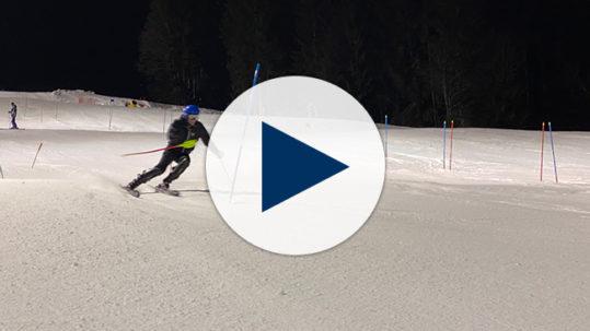 Le Rosey Ski Team Night Skiing