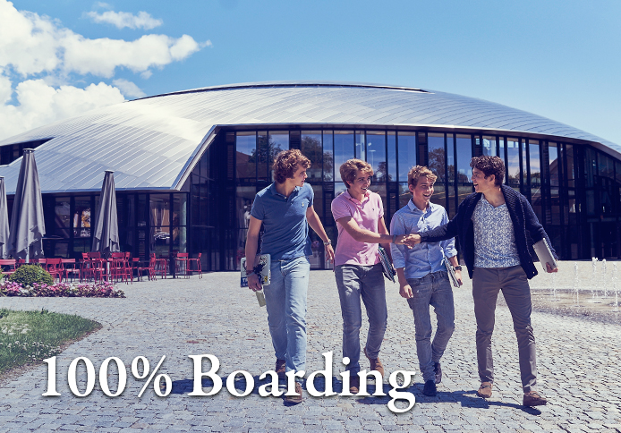 100% Boarding