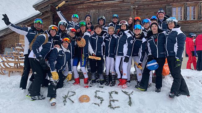 First ski race of the season