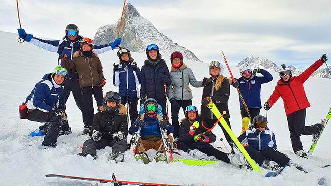 Le Rosey Ski Weekend in Zermatt