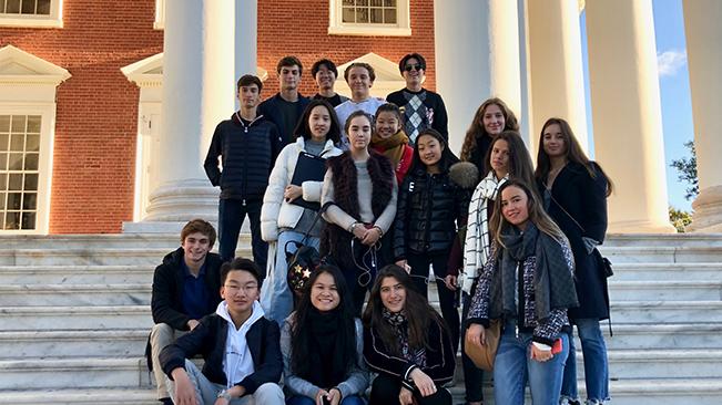 Voyages culturels - Le Rosey university visits 2018