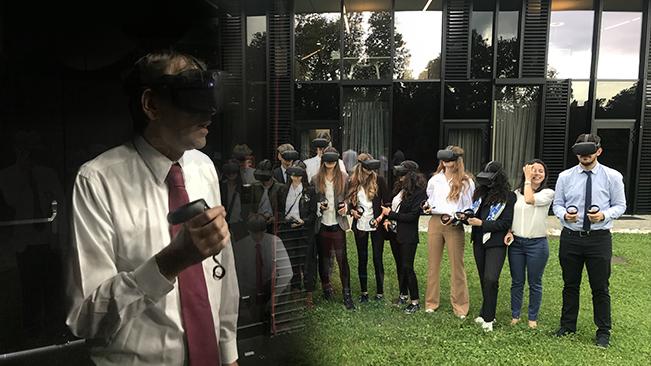 Virtual Reality enters the Classroom
