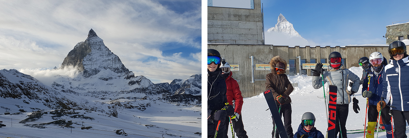 Weekend ski trip to Zermatt