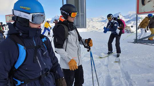 Zermatt Ski Test