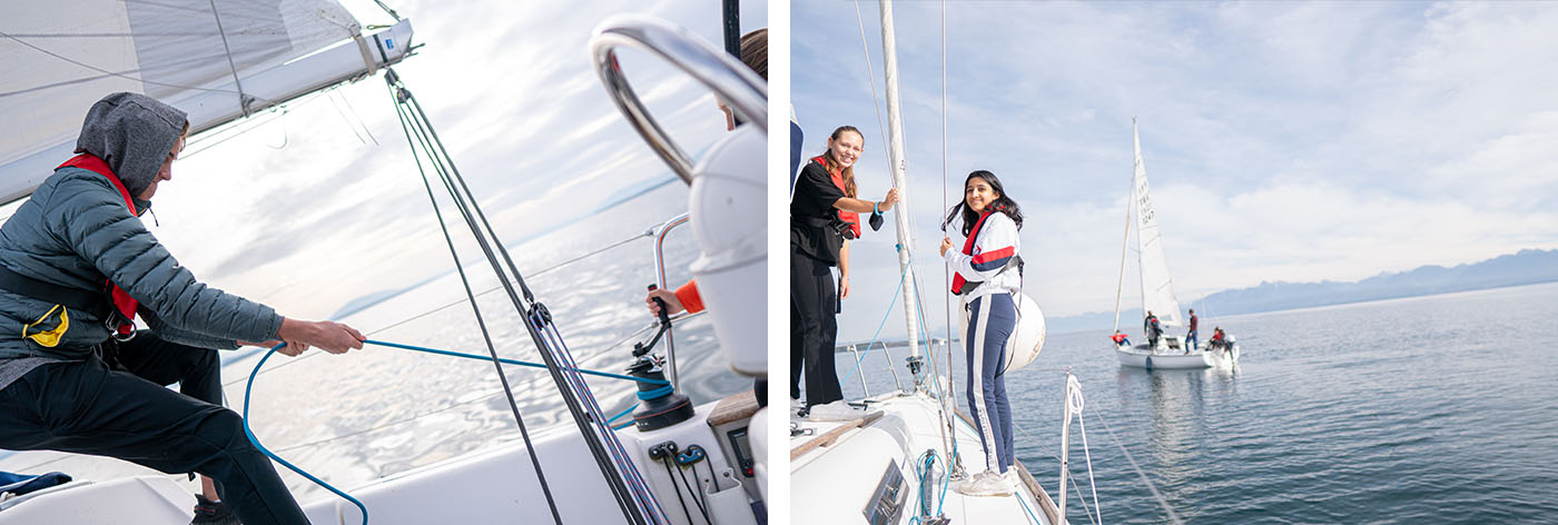 Norway Ski and Sailing Tour Training at Le Rosey