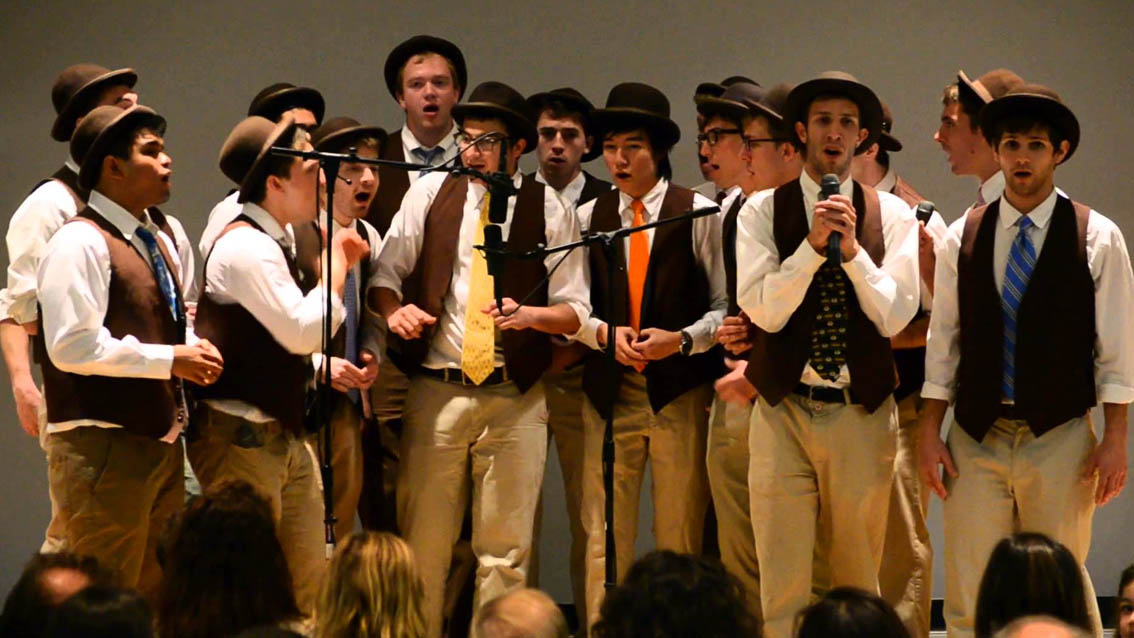 The Brown Derbies : a capella from Brown University